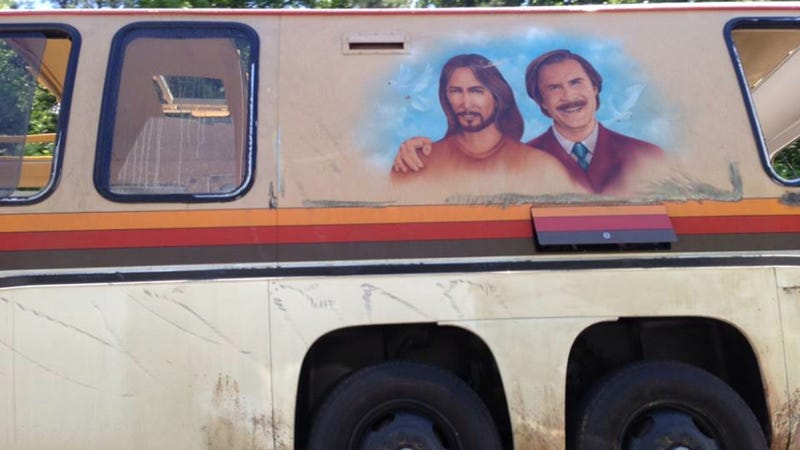 Anchorman's Ron Burgundy And Jesus Hang Out On Greatest RV Ever