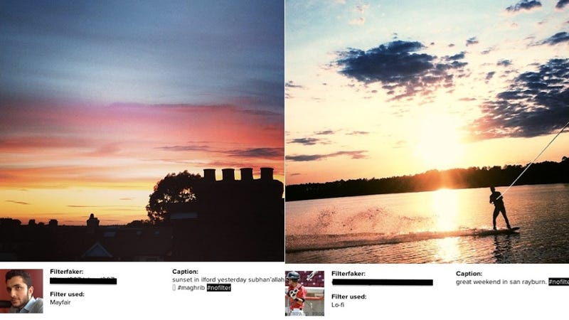 A Website Exposes Instagram Frauds Who Use Filters But Tag #nofilter