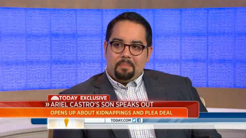 Ariel Castro's Son Speaks: 'I Grew Up in a House of Fear and Violence'