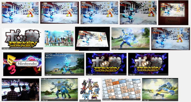 "You Really Shouldn't Google ""Pokken"" Images Right Now"