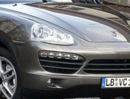 2011 Porsche Cayenne Spied Virtually Undisguised