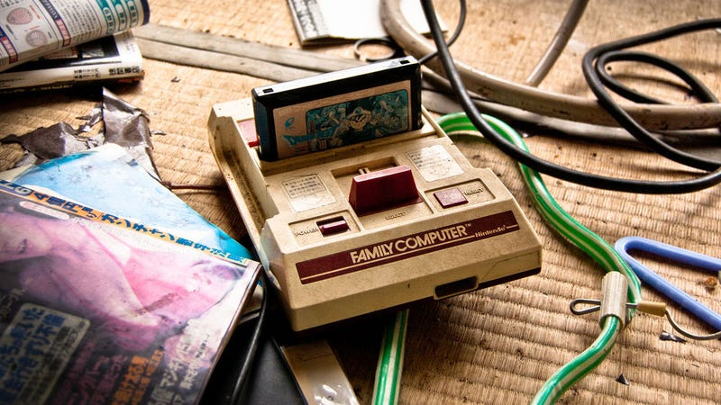 Japanese Ghost Town Haunted by Old Nintendo Consoles, Porn