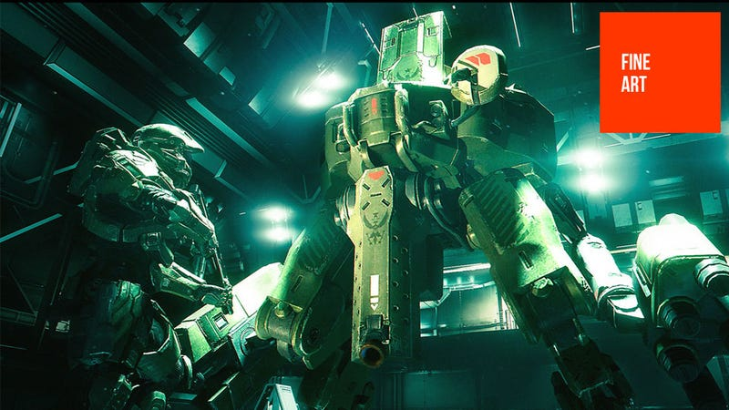 Yes, Master Chief, I Know You're Part Robot, But I Want You To Get In This Bigger Robot