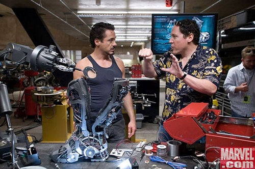 Jon Favreau Won't be Uniting the Avengers