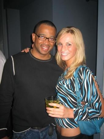 Stuart Scott is Desperate to Avoid Any Photographic Evidence of Him Chatting Up Cheerleaders