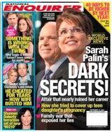 Palin Had Affair, Says Enquirer