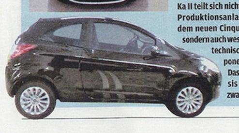 2009 Ford Ka Revealed?