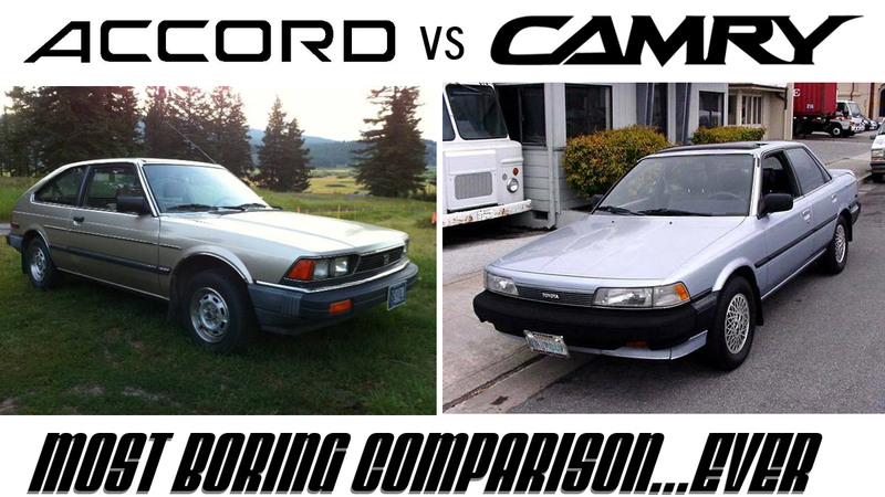 Go From Zero To Snooze In The Most Boring Car Comparison Ever