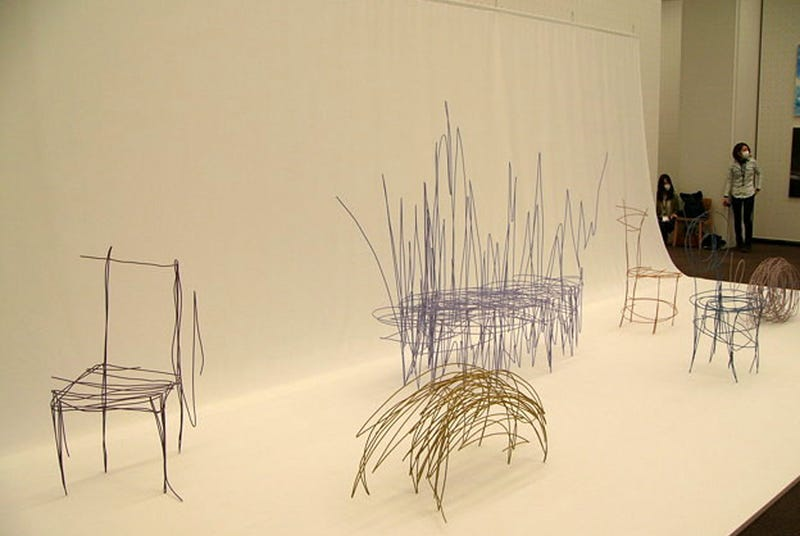 These Scribbled Sketches Are Actual Pieces of Furniture