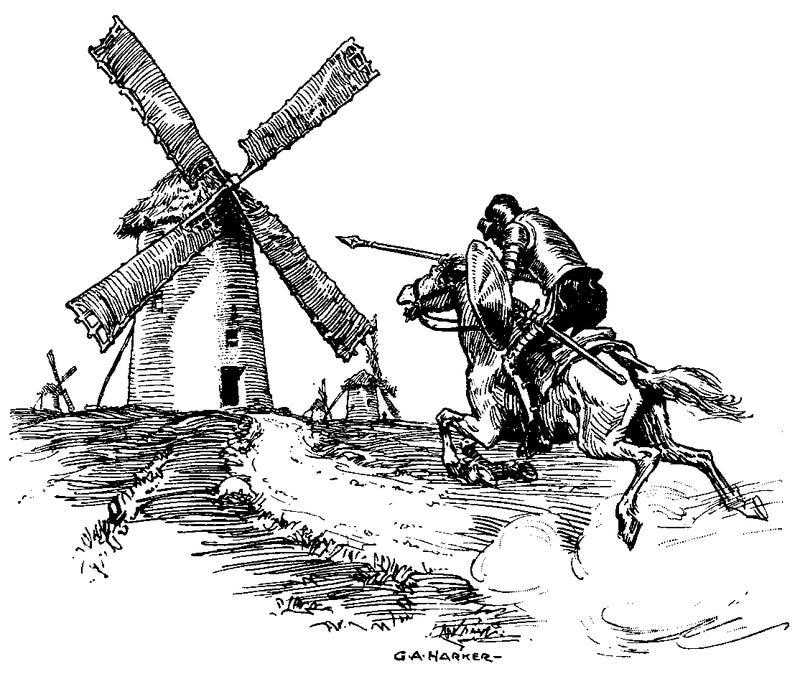 Major College Football Program Still Operating Like A Major College Football Program, Says Yahoo's Don Quixote