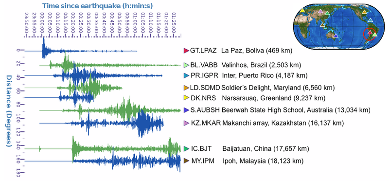 Geoscience of the Megaquake and Tsunami in Chile
