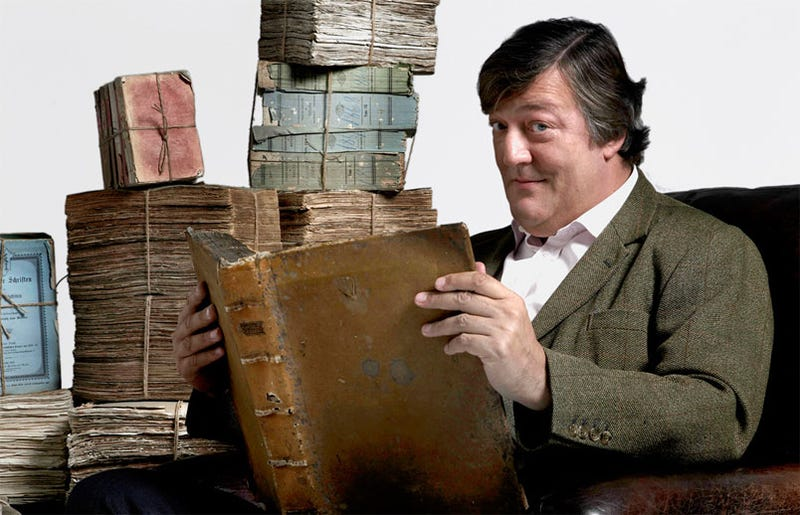 """Stephen Fry Doing Voice Work For """"2nd Edition Of A Video Game"""""""