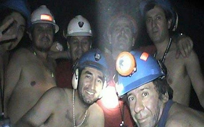 Trapped Chilean Miners Smoked Pot Underground