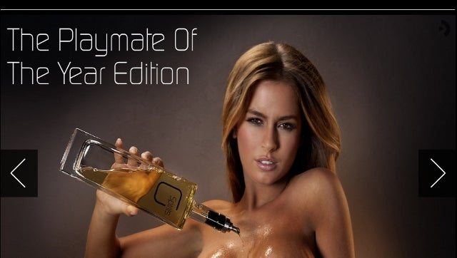 Liquor Company Pours Spirits Over Bare Chests of Glamour Models, Bottles and Sells the Resulting Concoction