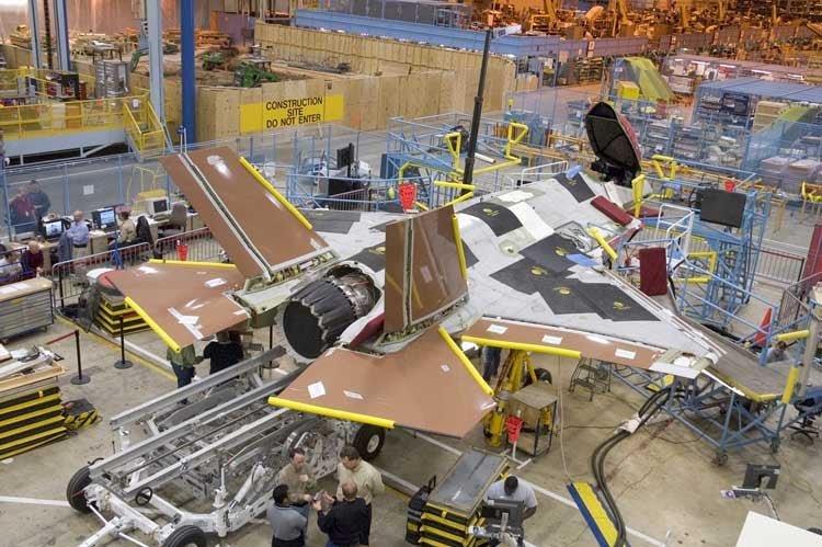 Build Your Own F-35 Lightning II Fighter Jet