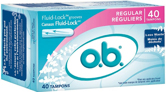 O.B. Tampons Return To Shelves
