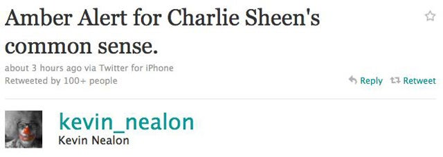 Charlie Sheen Joins Twitter