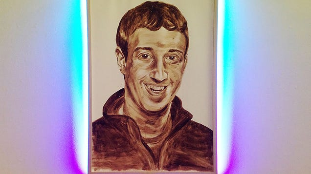 What Is There To Say About A Zuckerberg Portrait Made With Poop?