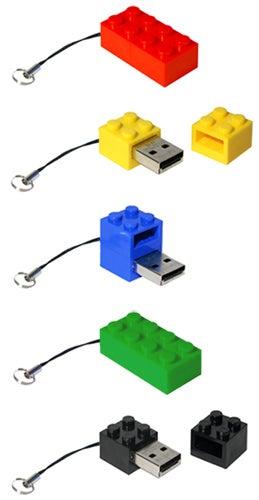 Zip Zip LEGO USB Drives Get Updated to 4GB