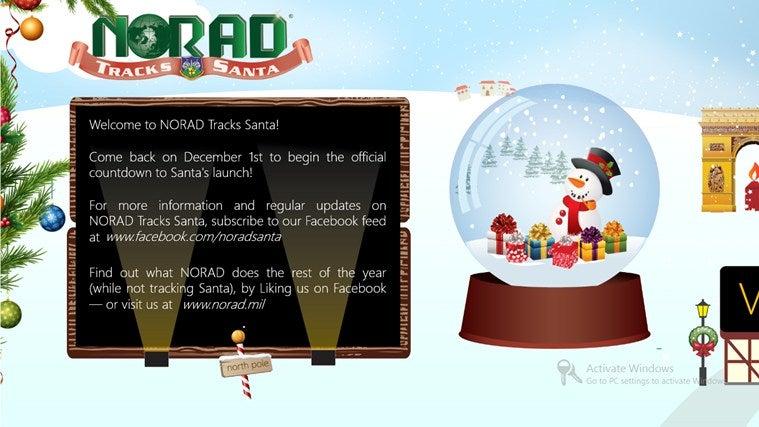 NORAD Tracks Santa Gallery