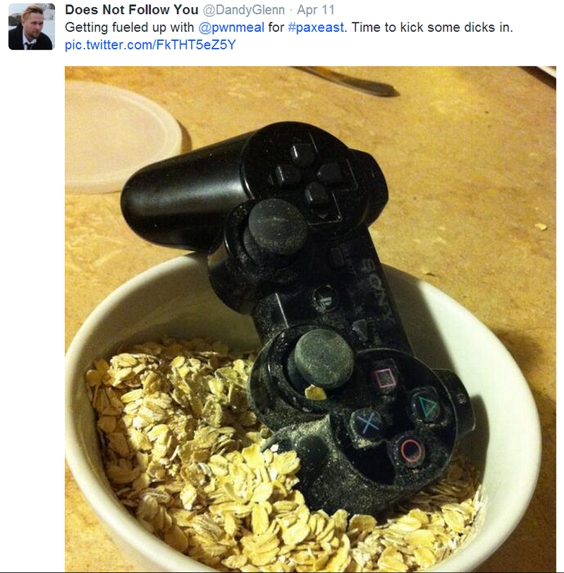 Pwnmeal: Extreme Gaming Oatmeal