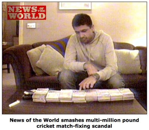 Ginormous Betting Scandal Rocks Cricket World