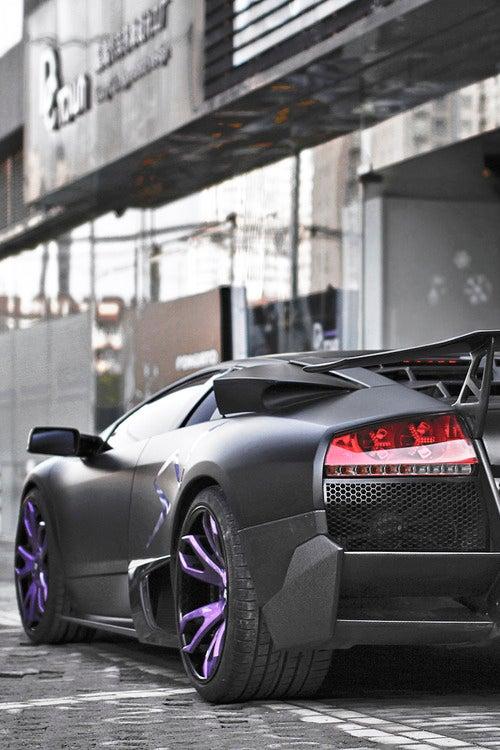 Purple wheels on an SV? Yeah I'll take it.