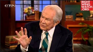 Pat Robertson Thinks There Could Be Demons In Your Second-Hand Clothes