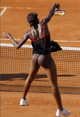 Venus Williams's Muscular Buttocks Make Another Appearance