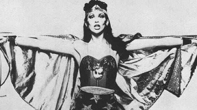 David Bowie's wife, the Wonder Woman and Black Widow that never was