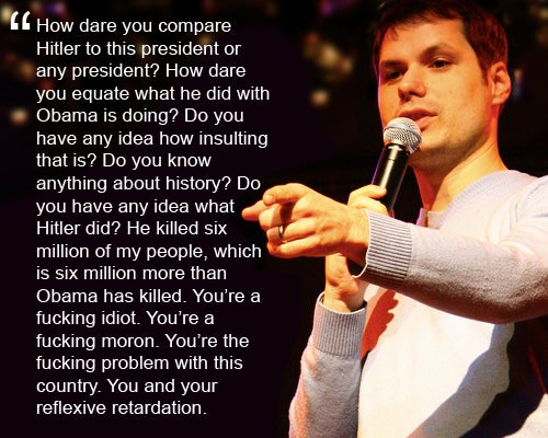 Michael Ian Black's Tirade Against a Racist Obama-Hater During Set (Updated)
