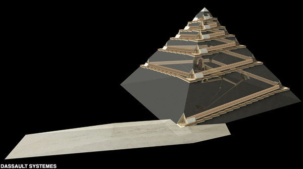 A theory that could finally explain how the Great Pyramids of Egypt were built