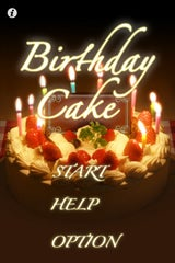 Happy Birthday Cake iPhone App May Result in Spit All Over Your iPhone
