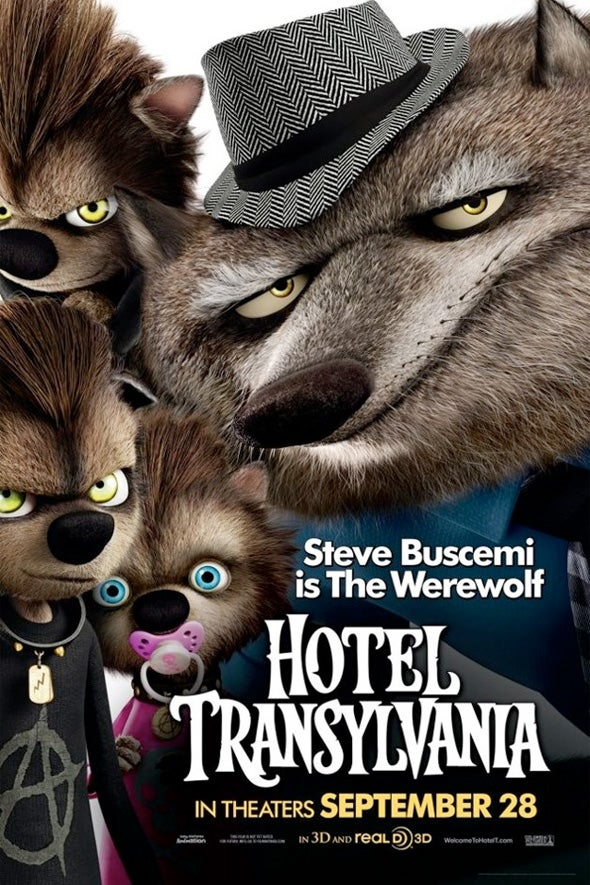 Hotel Transylvania Character Posters