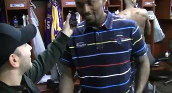Reporter Gets Ron Artest Involved In A Cell Phone Marriage Proposal