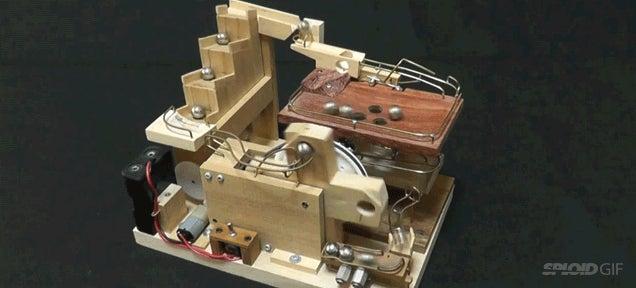 Infinite loop marble machines