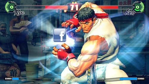 Facebook Games Could Get Cooler if Capcom Offers Up Street Fighter