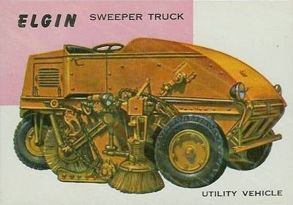 From Street Sweepers To Maseratis, 1950s World On Wheels Cards Had Them All