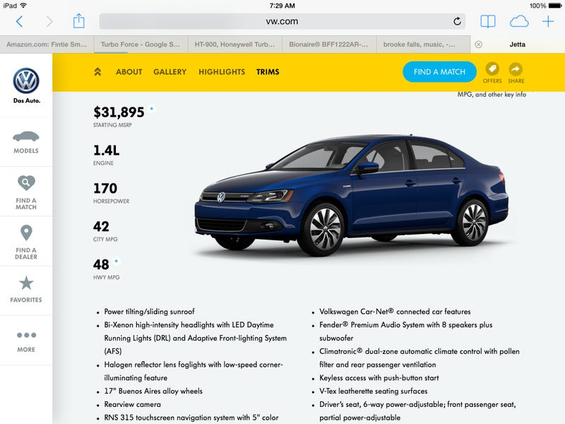 31K for a Jetta!