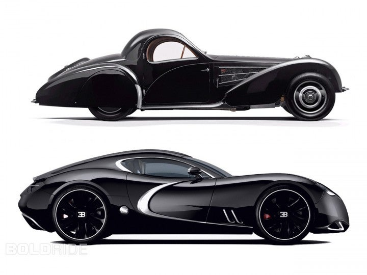 The Bugatti Gangloff Concept: Where Bugatti needs to go.