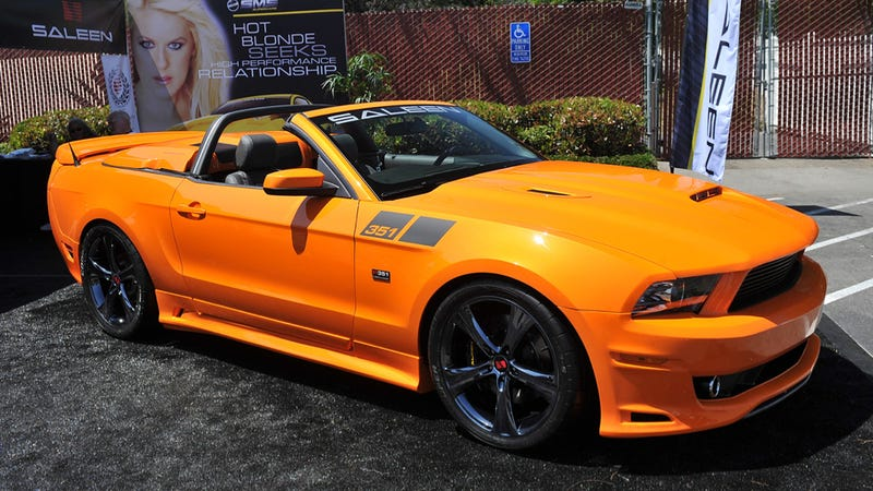 The 2014 Saleen 351 Has 700 Horsepower And Is Very Orange