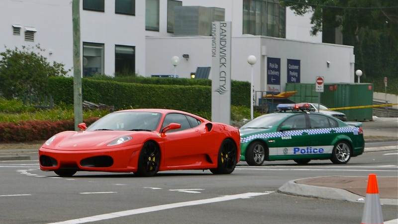 Millionaire Says Local Cops Discriminate Against Ferraris