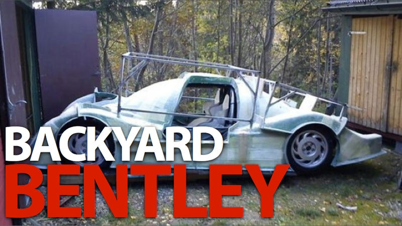 Hand-Made Bentley replica is a geek gearhead's dream build