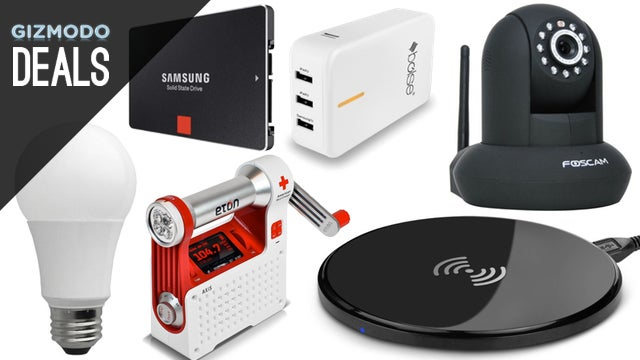 Deals: A Smarter Security Camera, Wireless Charging, 4K Everything