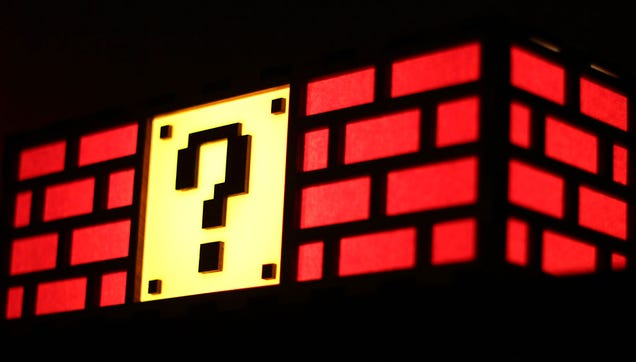 Question Block Lamp Won't Grant You a Single Extra Life