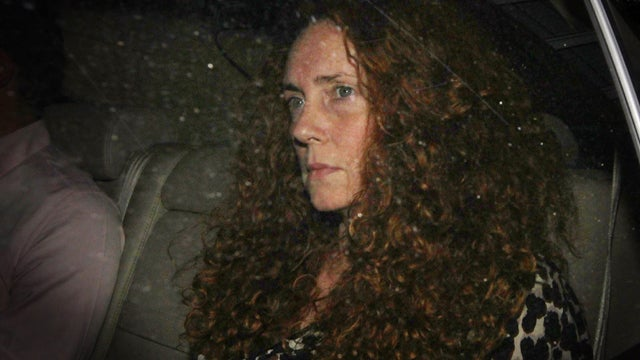 Everybody Watch Out For Rebekah Brooks's Hair!