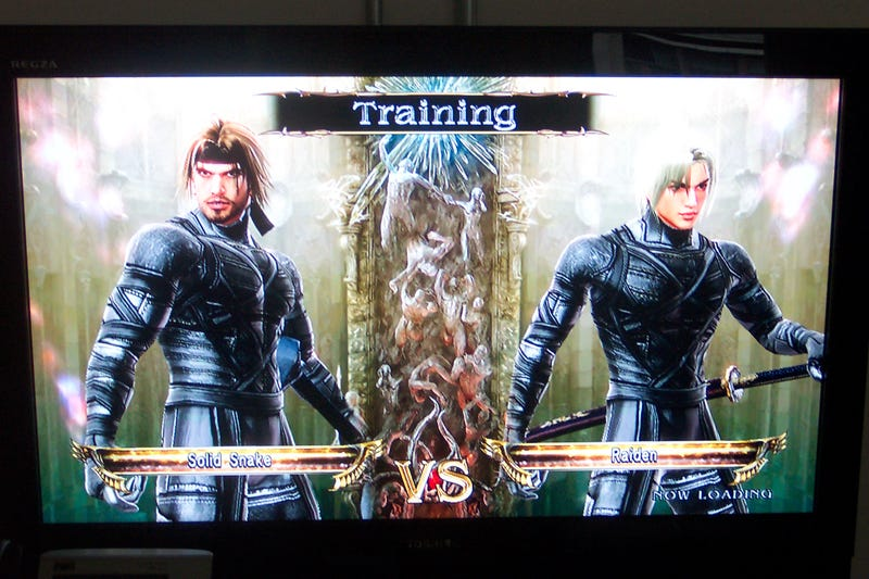 Metal Gear Solid? In *My* Soulcalibur IV?