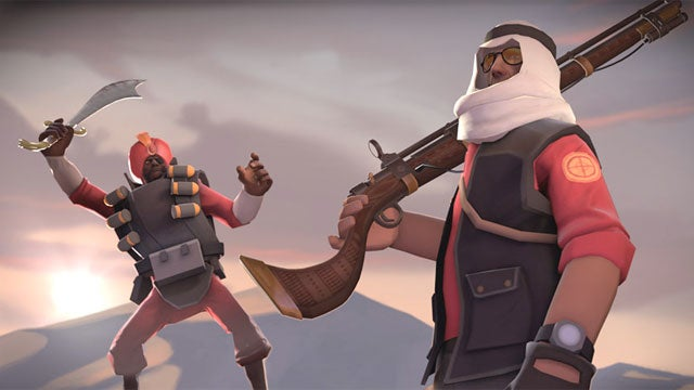 Team Fortress 2's Next Update Unsheathes Its Swords