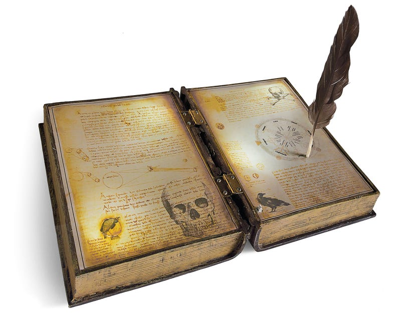 Your Harry Potter Party Needs This Self-Writing Spellbook Prop