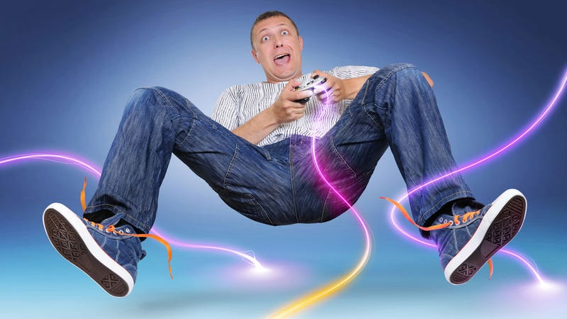 Fake Gamer of the Week: Attack of the Electric Neon Tentacle Monster